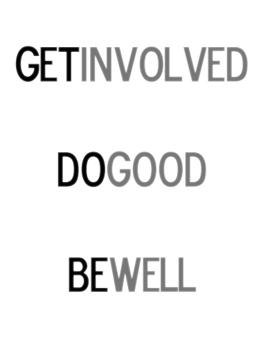 Get Involved Do Good Be Well